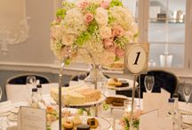 Wedding decor / Table arrangement