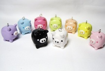 polymer clay charms / by Candi Daitch
