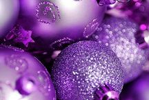 lilaa ja violettiä