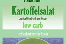 Kalorienarm / Falscher Kartoffelsalat