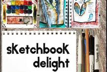 Online Tutorials for Painting & Sketchbooks ETC / by Moira Hickman