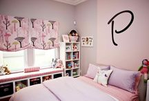 Purple Kids Room / When pink just isn't your thing, add a pop of purple to keep things girly in your little princess' room!