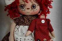 Doll patterns Raggety Ann and Andy