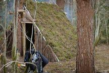 Bushcraft Shelters