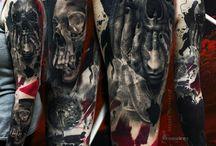 Denis Moskalev / Denis moskalev, tattooartist, trash polka, modern-trash polka, suprematism #freezing_tattoo vk.com/tattoofff facebook.com/freezing.obscurus