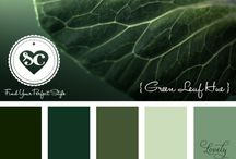 Color Theory : Greens