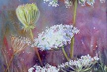 Art. Flowers / Prezentuje malarstwo olejne i akwarele.