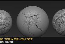 FREE Zbrush Custom Brushes