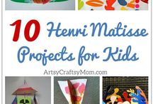 Great painters projects for kids