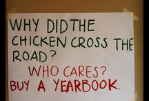 Yearbook Marketing Ideas / Funny ways to get people to know about, and buy your yearbook!