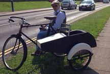 Bicycle sidecar / Wills sidecars
