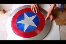 Kapitan Ameryka-stuff diy etc.