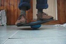 Balance board exercises