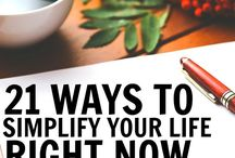 De-clutter and Simplify Life