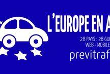 previtrafic europe / Tout pour mieux rouler en Europe, actu, règles et conseils.