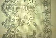 wzory,wzorki,schematy na szydełko