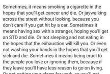 Suicidal more than true
