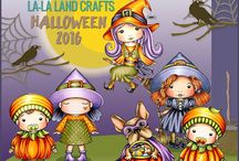 LLLC August 2016 Halloween Release / NEW products from our July 2016 Christmas Release :-)