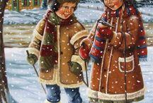 тема зима картинки