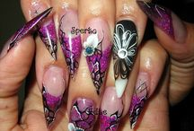 Nails  / All about NAILS / by AJ_Kreations Lewis
