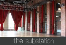 the substation