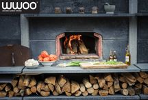 """WWOO outdoor kitchen / The WWOO outdoor kitchen can be completely customized, according to the size of your garden and your budget. Dutch design in your own garden.  """"Just add some friends"""""""