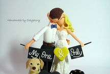 Wedding: Cake/Toppers