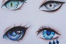 eyes/ paintings/ drawings