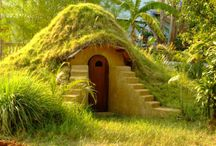 underground and earth house