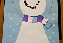 Arts : Bonhommes de neige