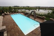 "Ocean Side Pools by San Juan Fiberglass Pools / Oceanside (194 photos)  Width 16' 2"" / 4.93M Length 40' 6"" / 12.34M Depth 6' 4"" / 1.93M Area 602ft2 / 55.9M2 Volume 20,600G / 78,000L"