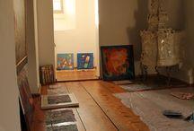 Studio at Castle Weinberg in Austria