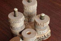 Wood toddler toys