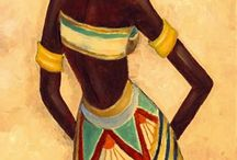 mujer africana