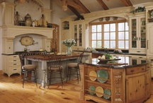 Home - Kitchens / Lots and lots of great ideas for our dream kitchen / by Michelle Bennett