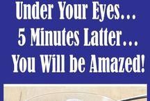 kringen onder ogen  5 minuten weg