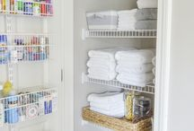 Linen (and everything else) closet