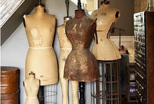 Antique Dress Forms & Hat Stands