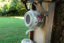 Rustic Garden Decor / Rustic and vintage gardening