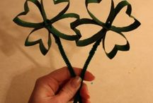 st pat's day & Valentines / Craft class ideas / by Kim Kotary