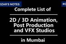 2D/3D Animation, Post Production and VFX Studios in Mumbai