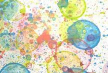 Activities for children / Art work I can do with children at work