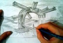 Paint / Рисунки карандашом.