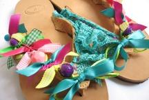 handmade summer sandals