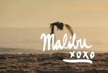 Malibu Shoot Inspo. / Inspiration for the Bijouterie Malibu shoot