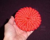 Loom - circle pot scrubber