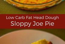 Low Carb Pies (Savoury & Sweet)