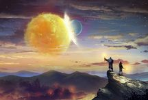 Time of the Two Suns / The Skara Cataclysm has set a new storming period: the Time of the Two Suns. Its cultures will have to struggle to survive as they fight with each other for its scarce resources...