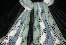 bobbin lace, chales