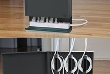 Hiding and organizing wires